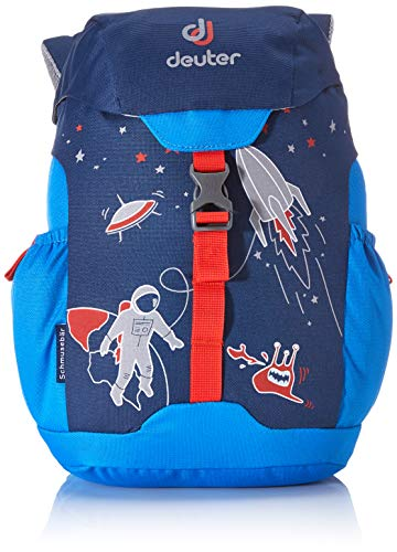 Deuter Unisex-Youth Schmusebär Rucksack, Midnight-Coolblue, 33 x 21 x 15 cm, 8 L