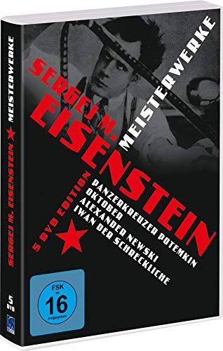 Sergej M. Eisenstein - Meisterwerke [5 DVDs]
