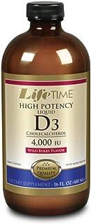 LifeTime Vitamin D 4000 Iu. Wild Berry Flavor. 16 Ounce