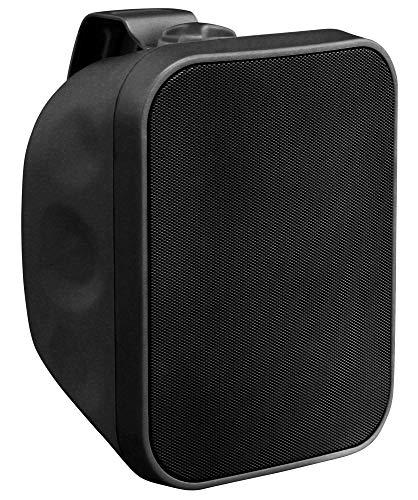 Pronomic OLS-5 BK DJ PA Outdoor-Lautsprecher für Garten, Terrasse, Restaurant (80 Watt, Schutzart IP56, 8 Ohm, 5,25