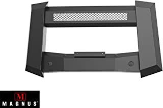 APS Magnus Modular Bull Bar | Front Brush Bumper | Grille Guard | Black | Fits 2017-2018 Nissan Titan