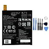 Ellenne Batterie compatible avec LG BL-T16 pour G Flex 2 BLT16 H955 H950 Haute capacité 3000 mAh...
