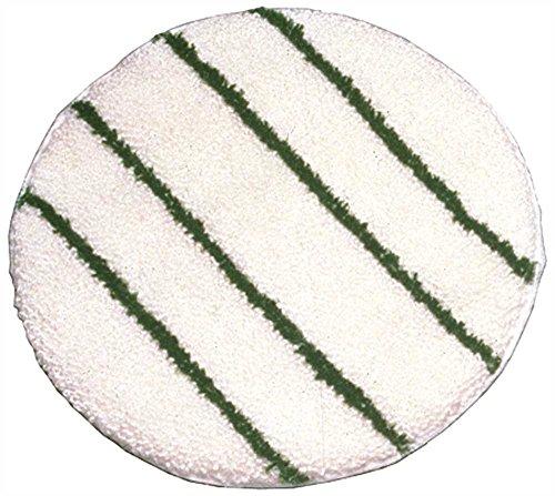 RCPP267 - Rubbermaid-White Rotary Yarn Bonnets with Scrub Strips