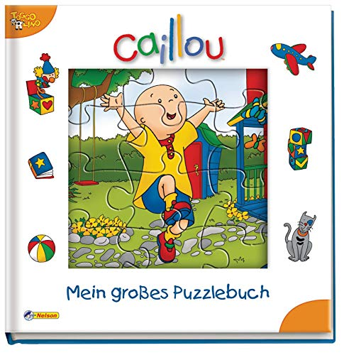 Caillou, Mein großes Puzzlebuch