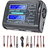 Best Lipo Battery Chargers - HTRC LiPo Charger Dual RC Charger 1-6S Balance Review