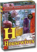Alphabet Mystery Puzzle - H Is For Housewives
