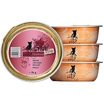 catz finefood Nourriture Humide pour Chat - N° 403 - sans céréales - sans Sucre - Nourriture Humide pour Chat - sans Sucre - Nourriture Humide pour Chat de la Plus Fine en gelée.