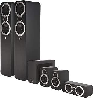 Q Acoustics 3000i 5.1 (3050i) Home Theater Speaker Package (Carbon Black)