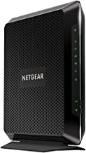 NETGEAR Nighthawk Cable Modem Wi-Fi Router Combo C7000-Compatible with Cable Providers Including Xfinity by Comcast, Spectrum, Cox for Cable Plans Up to 400 Mbps | AC1900 Wi-Fi Speed | DOCSIS 3.0