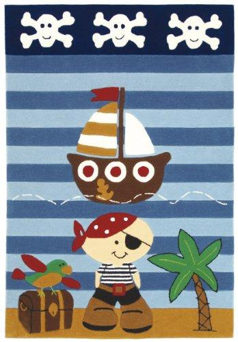 Wissenbach Kinderteppich Teppich Lifestyle Kids 2480-100 x 160 cm Pirat