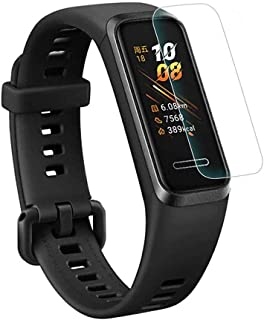 YEZHU Huawei Honor Band 4 フィルム【2枚セット全面保護】 TPU製 Honor Band 4 液晶保護フィルム/超薄/指紋防止/3D Touch対応/24時間内気泡自動消え /高感度タッチ,(Honor Band 4 ...