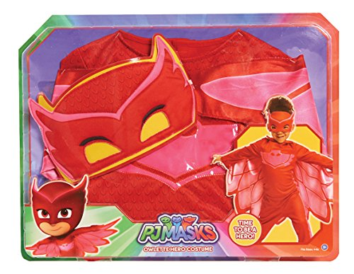 PJ Masks Disfraces, color rojo, 4-6 años (Bandai 24602)