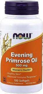 [海外直送品] ナウフーズ   EVENING PRIMROSE 100 Sgels 500 mg