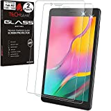 TECHGEAR [2 Stück] Galaxy Tab A8 2019 8.0 Zoll Panzerglas (SM-T290 /SM-T295) Bildschirmschutzfolie aus gehärtetem Glas [9H Festigkeit] [Crystal Clarity] kompatible mit Samsung Galaxy Tab A 8.0 2019