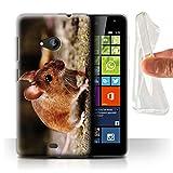 Stuff4 Phone Case for Microsoft Lumia 535 Cute Pet Animals