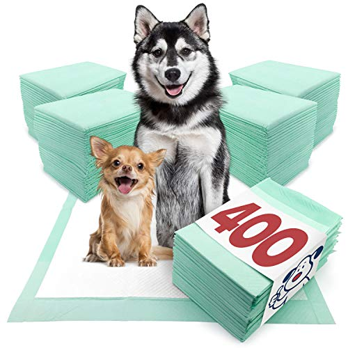 ValuePad Plus Puppy Pads, XXL Gigantic 28x44 Inch, 400 Count - Premium Pee Pads for Dogs, Tear Resistant, Super Absorbent Polymer Gel Core, 5-Layer Design