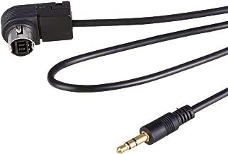 HagieNu Car Audio 3.5mm Jack AUX Cable Ai-net Adapter for JVC Alpine CD KS-U58 PD100 U57 U29 for MP3 iPhone 5 6