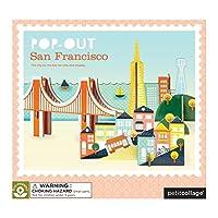 Petit Collage Pop-Out San Francisco by Petit Collage