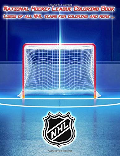 National Hockey League Coloring Book - Logos of all NHL teams for coloring and more ...