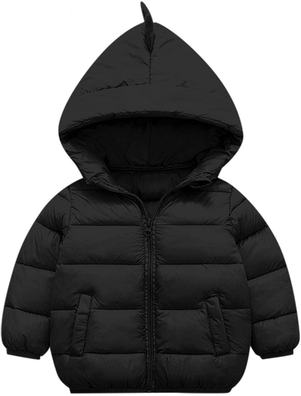 IKFIVQD Kids Baby Boys' Outerwear Jackets Hooded Zip Jackets Windbreaker Casual Outerwear