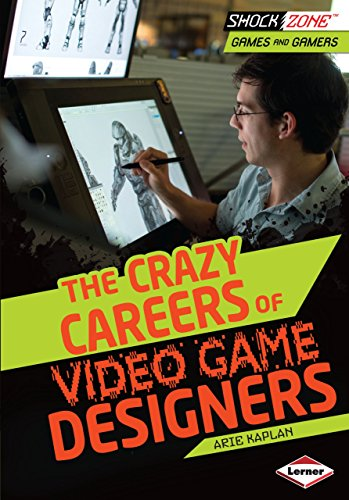 Amazon Com The Crazy Careers Of Video Game Designers Shockzone Games And Gamers Ebook Kaplan Arie Kindle Store