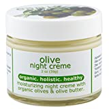 Made from Earth Olive Night Cream - Anti Aging Renewal for Face, Eyes and Neck, 2 oz