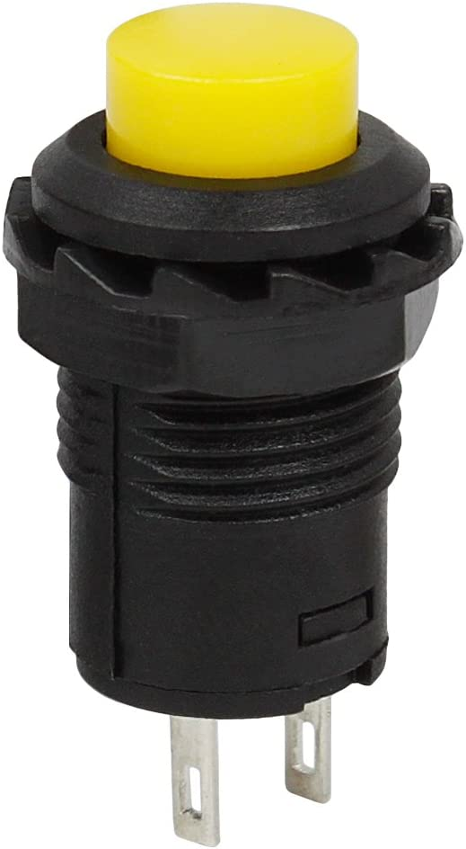 PP-NEST 20x 12mm Plastic DIY Push Button Switch ANKG-03 5 Colors,Latching