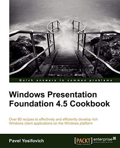 Windows Presentation Foundation 4.5 C