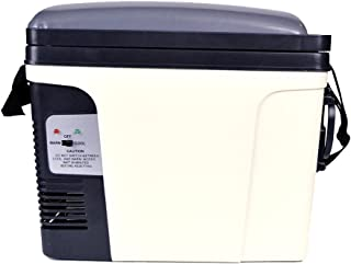 SMAD 11 Can Beverage Warmer Cooler DC AC Mini Fridge,for Home, Office, Car, RV & Boat,5.5 Qt