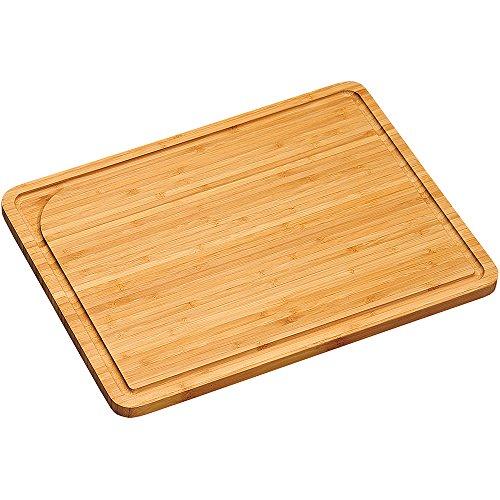 Kesper Tabla de Cortar de bambú marrón, bambú, marrón, 40 x 30 x 1.6 cm