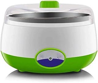 WGNHM Multi-function automatic yogurt machine stainless steel inner rice wine natto fermentation machine (Color : Green)