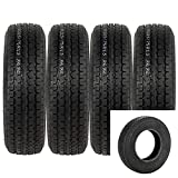 Radial Trailer Tires ST 225/75R15 10PR Load Range E 15 inch Rim Speed Rating/L 225/75r Travel Tractor Camper Trailers Tires Set of 4