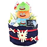 選べるモンスターのドラクエおむつケーキ 出産祝い おむつケーキ (スライムタワー)