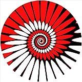 Zomo - Almohadilla (2 unidades), diseño de esferas, color rojo