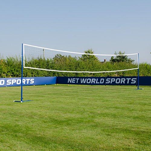 Procourt Badminton/Volleyball Posts & Nets Package - Porta...