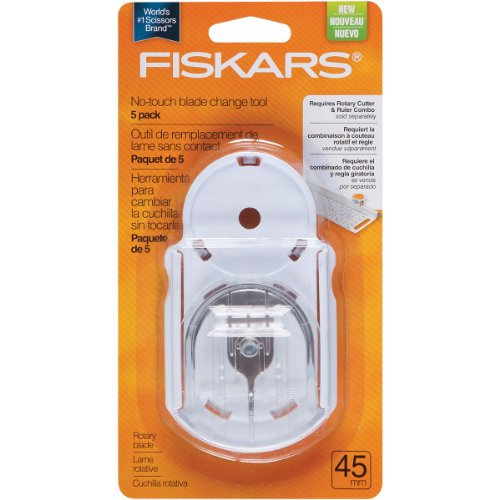Fiskars 45mm No-touch Blade Change Replacement Tool Kit, 5 Pack (195120-1001)