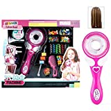 DIY Magisches Geflecht Haarflechtmaschine, Elektrische Automatische Haarflecht Vorrichtung Modefrisur für Mädchen Frauen (Luxusbox)