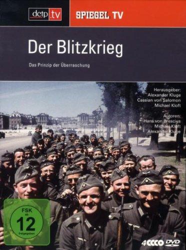 Spiegel TV - Der Blitzkrieg: Das Prinzip der Überraschung (4 DVDs)
