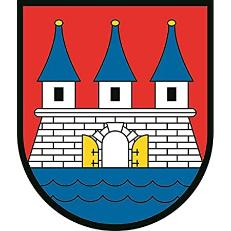 U24 Aufkleber Hamburg Altona Wappen Autoaufkleber Sticker Konturschnitt Auto