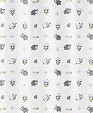 Kleine Wolke 5130148305 Duschvorhang Sheep, 180 x 200 cm, Multicolor