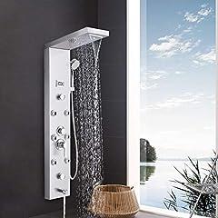 Edelstahl Duschsystem 5