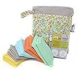 Close Parent, Toallitas Para Bebé Reutilizables, Paquete De 10 Unidades, Color Pastel,unisex, New Style Pastel, Unitalla