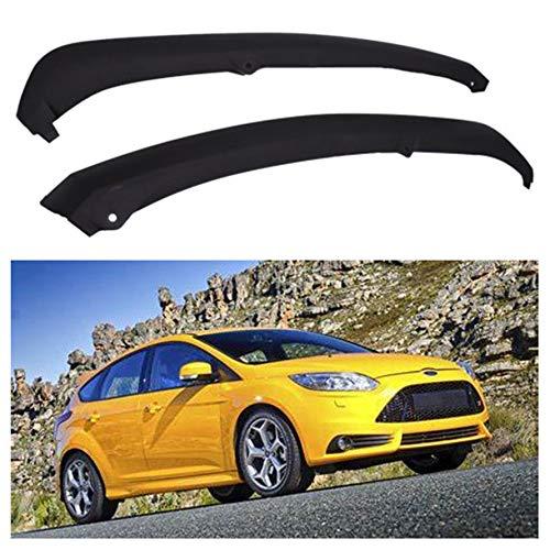 munirater Front Bumper Spoiler Lip Air Chin Splitter Replacement for Ford Focus...