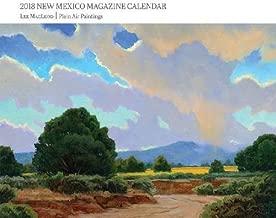 2018 New Mexico Magazine Artist Calendar: Lee MacLeod Plein Air Paintings