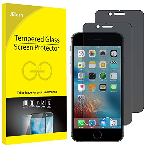 JETech Privacy Screen Protector for Apple iPhone 6 and iPhone 6s, 4.7-Inch, Anti-Spy Tempered Glass...
