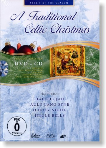A Traditional Celtic Christmas (Special Edition DVD + CD feat. Hallelujah, Auld Lang Syne, O Holy Night, Jingle Bells a.m.m.)