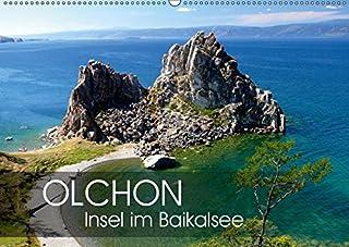 Olchon - Insel im Baikalsee (Wandkalender 2019 DIN A2 quer): Im oestlichen Sibirien liegt der tiefste Suesswassersee der Erde: der Baikal. Mittendrin Olchon als groesste Insel und beliebtes Reiseziel. (Monatskalender, 14 Seiten )