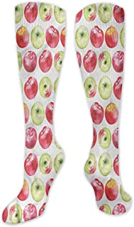 Pattern Socks,Socks Women,Women Casual,Socks Apple Vintage Harvest Yield