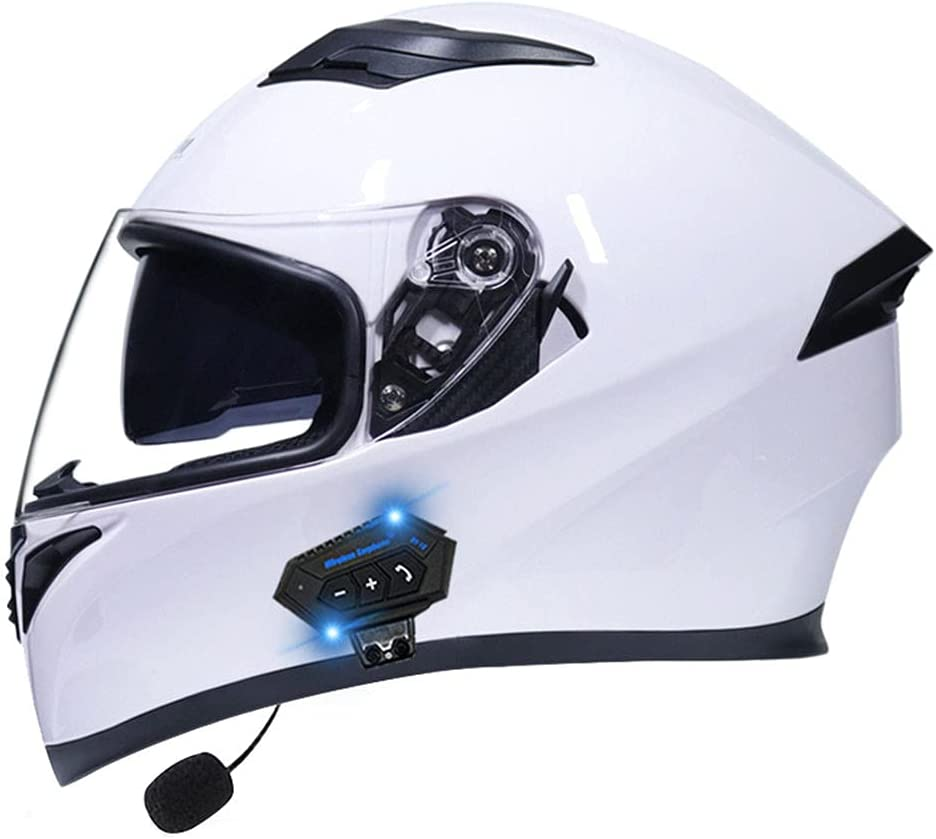 Motorcycle Bluetooth Helmet Dot Ece Face Certified Same day shipping Motorcy Full Industry No. 1