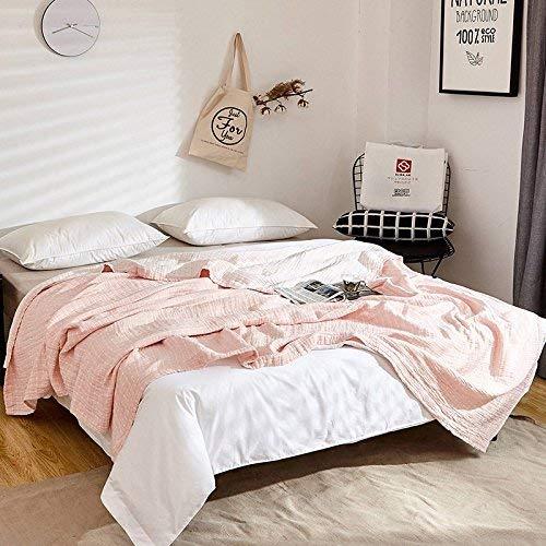 Crystallly Mullluiers van Japanse jonge vrouwen, eenvoudige deken, vier lagen eenpersoonsbed en tweepersoonsbed 150 cm x 200 cm, vier lagen van het oppervlak